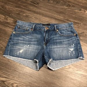 Lucky Brand | Malibu Short Distressed Jean Shorts